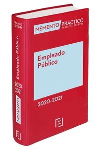 MEMENTO EMPLEADO PÚBLICO  2020-2021.