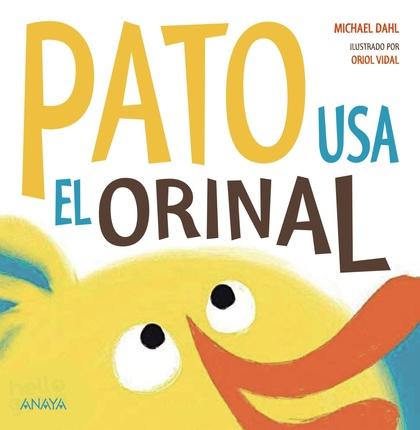 PATO USA EL ORINAL.
