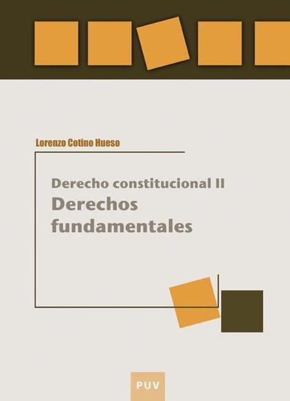 DERECHO CONSTITUCIONAL II : DERECHOS FUNDAMENTALES