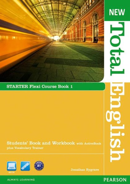 NEW TOTAL ENGLISH STARTER BOOK 1 + CD