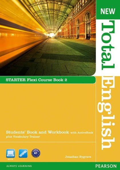 NEW TOTAL ENGLISH STARTER BOOK 2 + CD