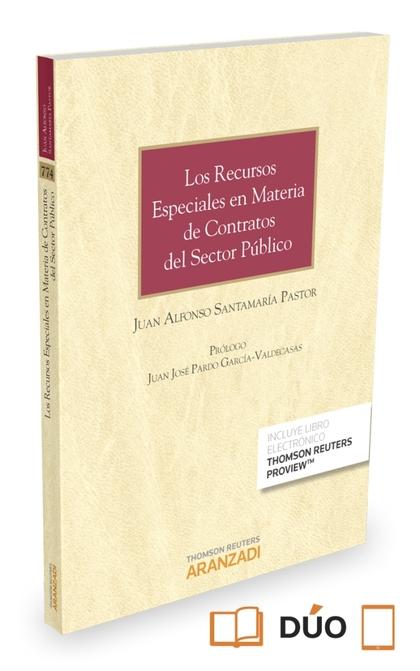 LOS RECURSOS ESPECIALES EN MATERIA DE CONTRATOS DEL SECTOR PÚBLICO (PAPEL + E-BO.