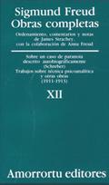 SIGMUND FREUD OBRAS COMPLETAS XII