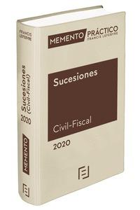 MEMENTO SUCESIONES (CIVIL-FISCAL) 2020.