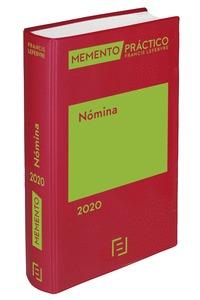 MEMENTO SALARIO Y NÓMINA 2020