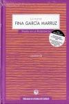 LA VOZ DE FINA GARCÍA MARRUZ