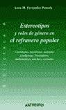 ESTEREOTIPOS Y ROLES DE GÉNERO EN EL REFRANERO POPULAR: CHARLATANAS, M