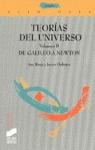 TEORIA DEL UNIVERSO V. II DE GALILEO A NEWTON