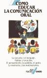COMO EDUCAR COMUNICACION ORAL