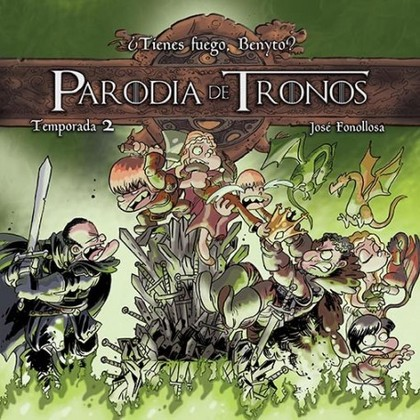 PARODIA DE TRONOS TEMPORADA 2
