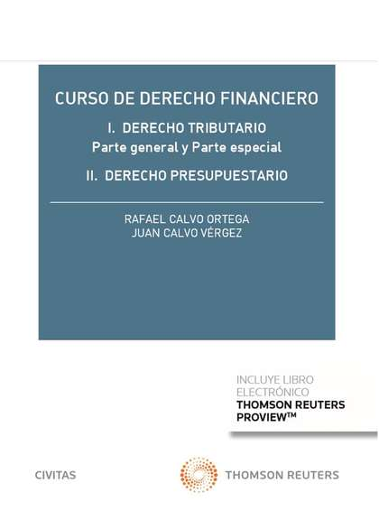 CURSO DE DERECHO FINANCIERO (DÚO)