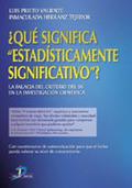 ¿QUÉ SIGNIFICA ESTADÍSTICAMENTE SIGNIFICATIVO?: LA FALACIA DEL CRITERI
