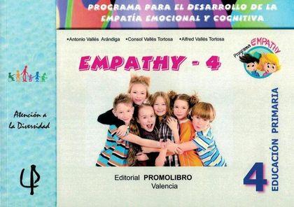 EMPATHY 4 : PROGRAMA PARA EL DESARROLLO DE LA EMPATÍA EMOCIONAL Y COGNITIVA : EDUCACIÓN PRIMARI