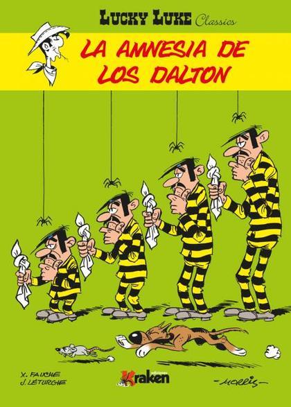 LUCKY LUKE, LA AMNESIA DE LOS DALTON