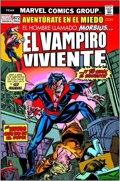 MARVEL LIMITED MARVEL OMNIBUS. MORBIUS: AVENTURAS DENTRO DEL TERROR.