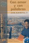 CON AMOR Y CON PALABRAS + CD.