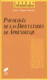 PSICOLOGIA DE LAS DIFICULTADES DE APRENDIZAJE