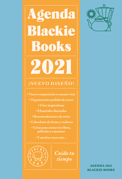 AGENDA BLACKIE BOOKS 2020                                                       CUIDA TU TIEMPO