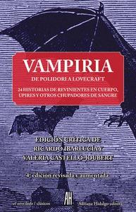 VAMPIRIA DE POLIDORI A LOVECRAFT.- NE                                           24 HISTORIAS DE
