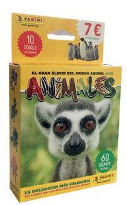 BLISTER 10 SOBRES ANIMALES 2020.