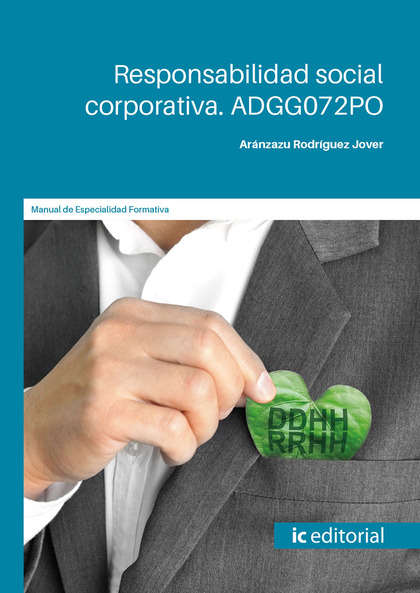 RESPONSABILIDAD SOCIAL CORPORATIVA. ADGG072PO.