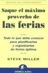 SAQUE EL MAXIMO PROVECHO DE LAS FERIAS