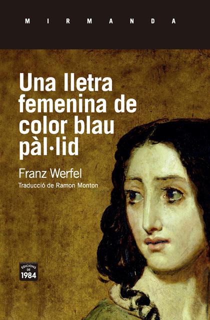 UNA LLETRA FEMENINA DE COLOR BLAU PÀL·LID.