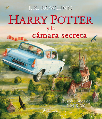 HARRY POTTER Y LA CÁMARA SECRETA.