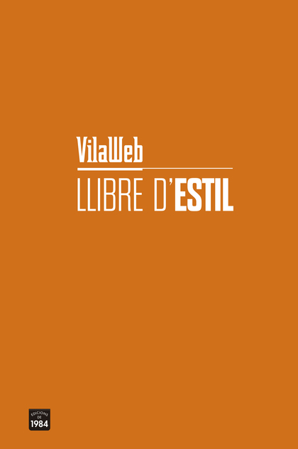 LLIBRE D´ESTIL DE VILAWEB.