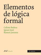 ELEMENTOS DE LÓGICA FORMAL.