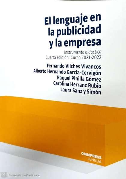 LENGUAJE EN LA PUBLICIDAD Y LA EMPRESA, EL  4ª EDIC..