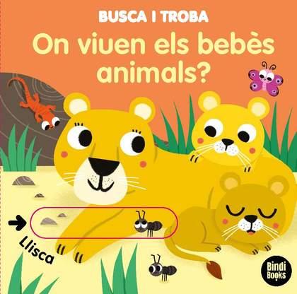 ON VIUEN ELS BEBÈS ANIMALS?. LLIBRES AMB SOLAPES DOBLES QUE REPRODUEIXEN EL JOC DEL ´TAT!´. IDE
