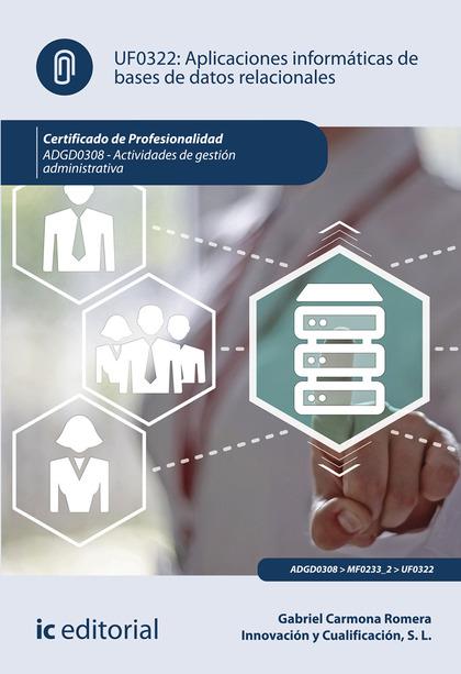 APLICACIONES INFORMÁTICAS DE BASES DE DATOS RELACIONALES. ADGD0308 - ACTIVIDADES.