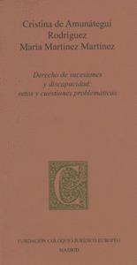 DERECHO DE SUCESIONES Y DISCAPACIDAD: RETOS Y CUESTIONES PROBLEMÁTICAS.