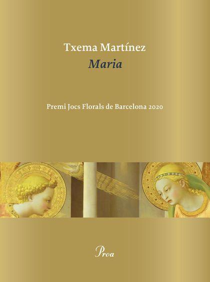 MARIA. PREMI JOCS FLORALS 2020