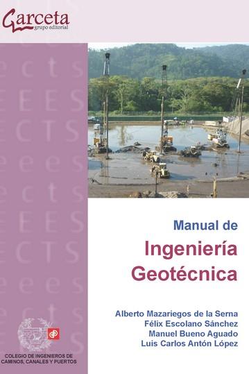 MANUAL DE INGENIERIA GEOTECNIA.
