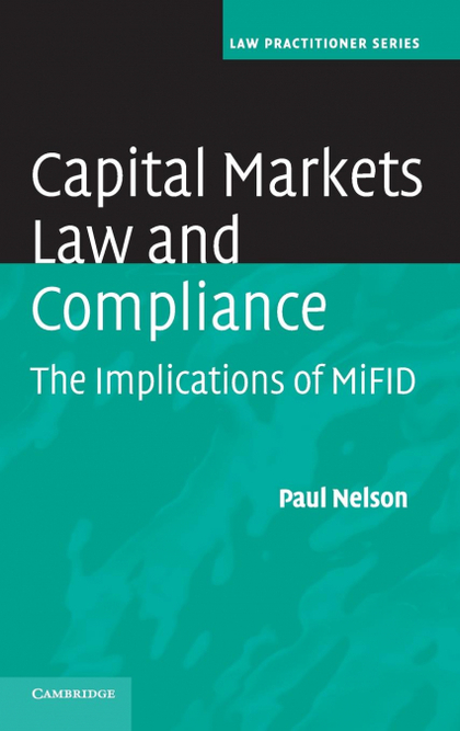 CAPITAL MARKETS LAW AND COMPLIANCE