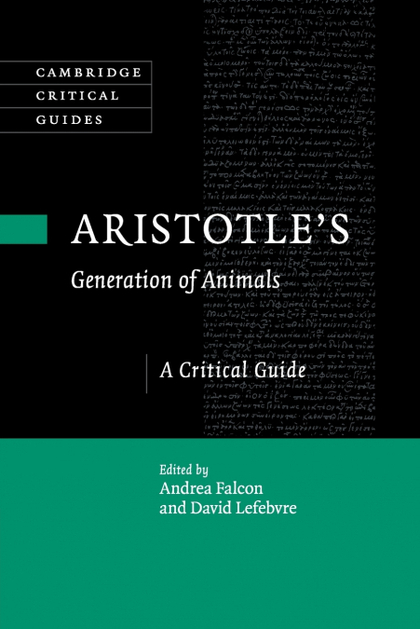 ARISTOTLES GENERATION OF ANIMALS