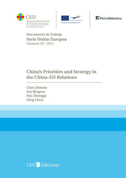 CHINA´S PRIORITIES AND STRATEGY IN THE CHINA-EU RELATIONS