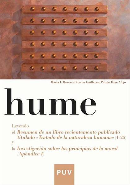 HUME : LEYENDO EL RESUMEN DE UN LIBRO RECIENTEMENTE PUBLICADO TITULADO ´TRATADO DE LA NATURALEZ