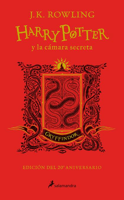 HARRY POTTER Y LA CÁMARA SECRETA. GRYFFINDOR. ROJO