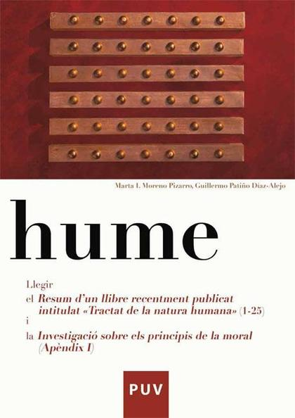 HUME : LLEGIR EL RESUM D´UN LLIBRE RECENTEMENT PUBLICAT INTITULAT ´TRACTAT DE LA NATURA HUMANA