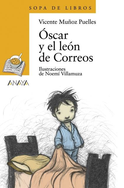Óscar y el león de Correos