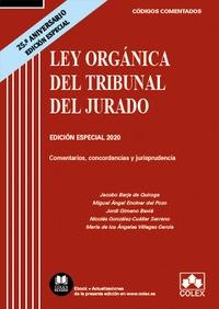LEY ORGANICA DEL TRIBUNAL DEL JURADO 25 ANIVERSARIO 2020