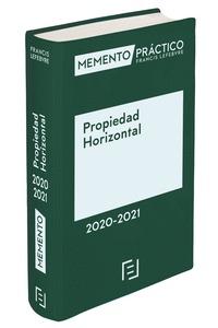 MEMENTO PROPIEDAD HORIZONTAL 2020-2021.