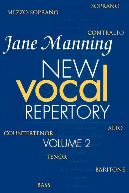 NEW VOCAL REPERTORY
