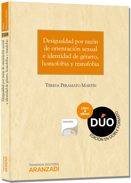 DESIGUALDAD POR RAZÓN DE ORIENTACIÓN SEXUAL E IDENTIDAD DE GÉNERO, HOMOFOBIA Y TRANSFOBIA (PAPE