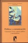 POLÍTICA Y COMUNICACIÓN. CONCIENCIA CÍVICA, ESPACIO PÚBLICO Y NACIONALISMO