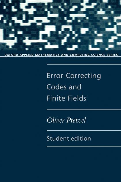ERROR-CORRECTING CODES AND FINITE FIELDS