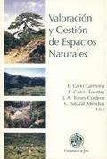 VALORACIÓN Y GESTIÓN DE ESPACIOS NATURALES